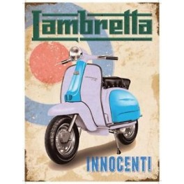 Plaque LAMBRETTA INNOCENTI