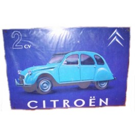 Plaque 2CV CITROËN