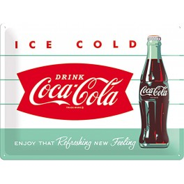 Plaque ICE COLD Coca-Cola