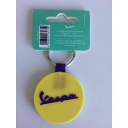 Porte-clé Vespa vert/jaune