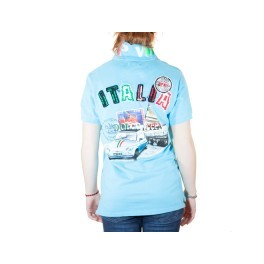 Polo HIP WAY Dolce Vita femme MC turquoise