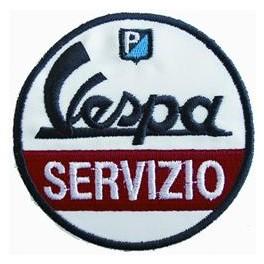 Insigne cousue Vespa Servizio